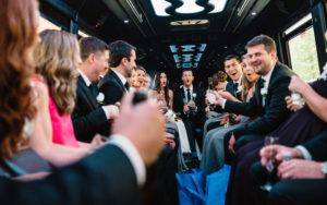 Transportation for wedding groups